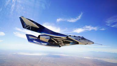 Virgin Galactic с нови тест на космическия си кораб