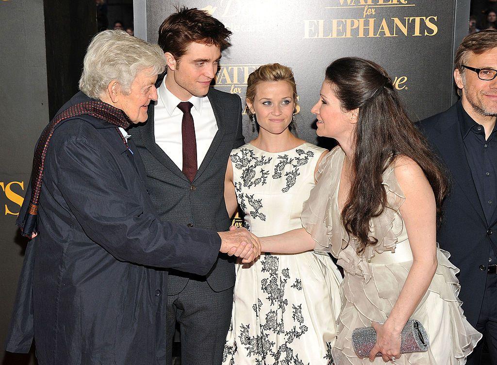 """на премиерата на филма """"Вода за слонове"""""""