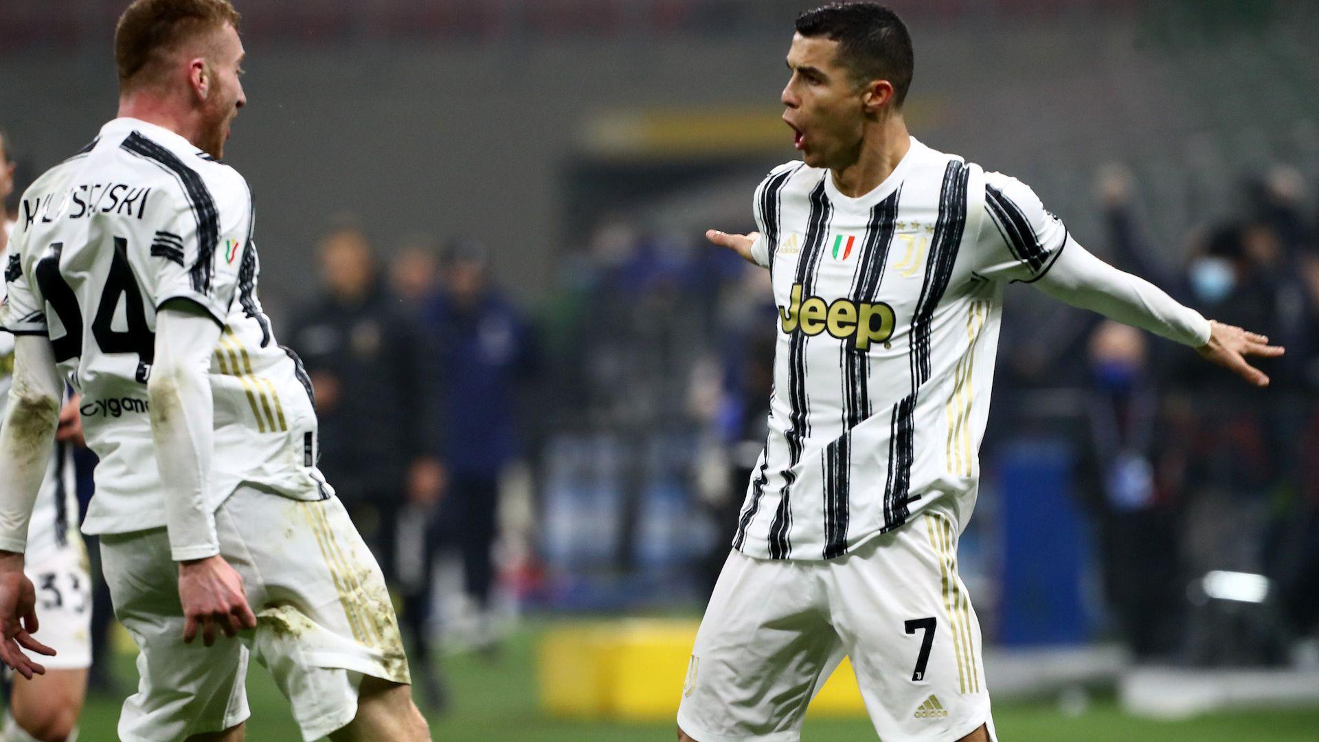 Два удара на Кристиано Роналдо доближиха Ювентус до финал
