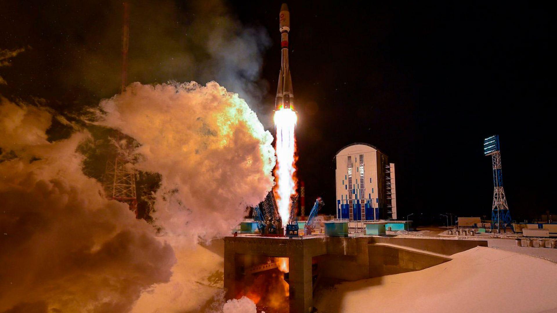 Русия осъществи първия си космически старт за 2021 г.
