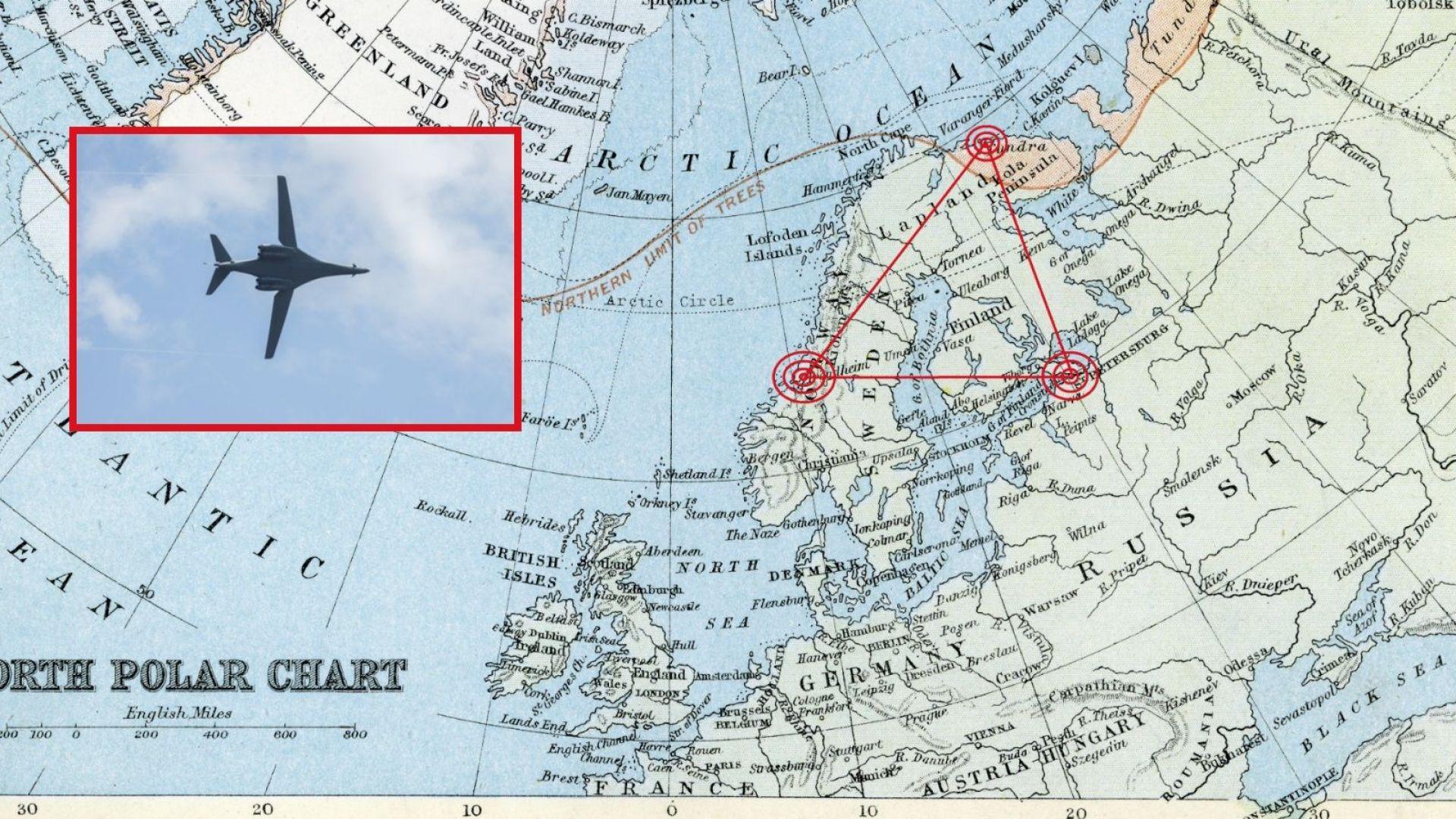 САЩ разполага най-бързите си бомбардировачи на час от Санкт Петербург