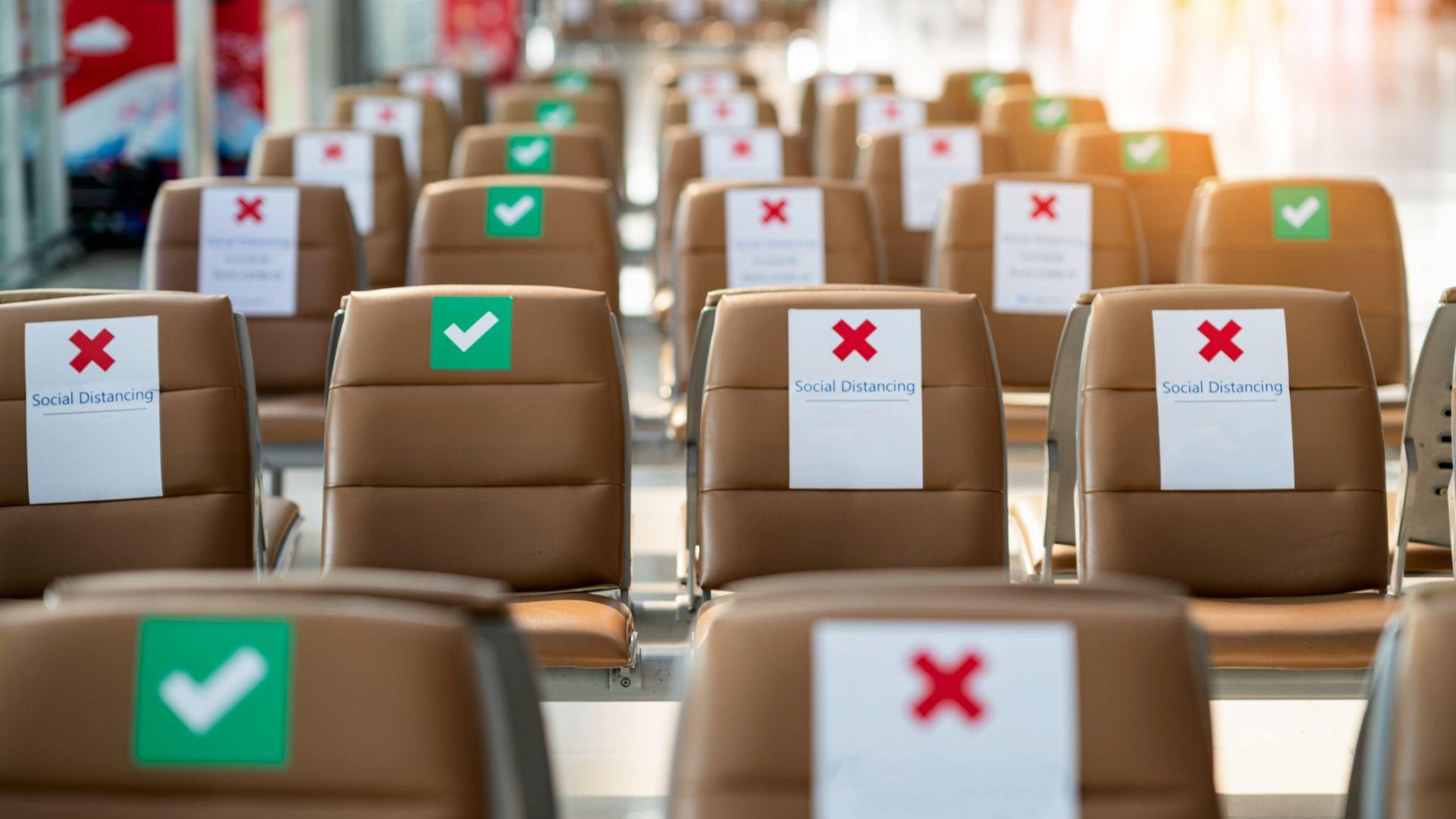 През 2020 г.: Авиосекторът отчете 66% спад на превозените пътници