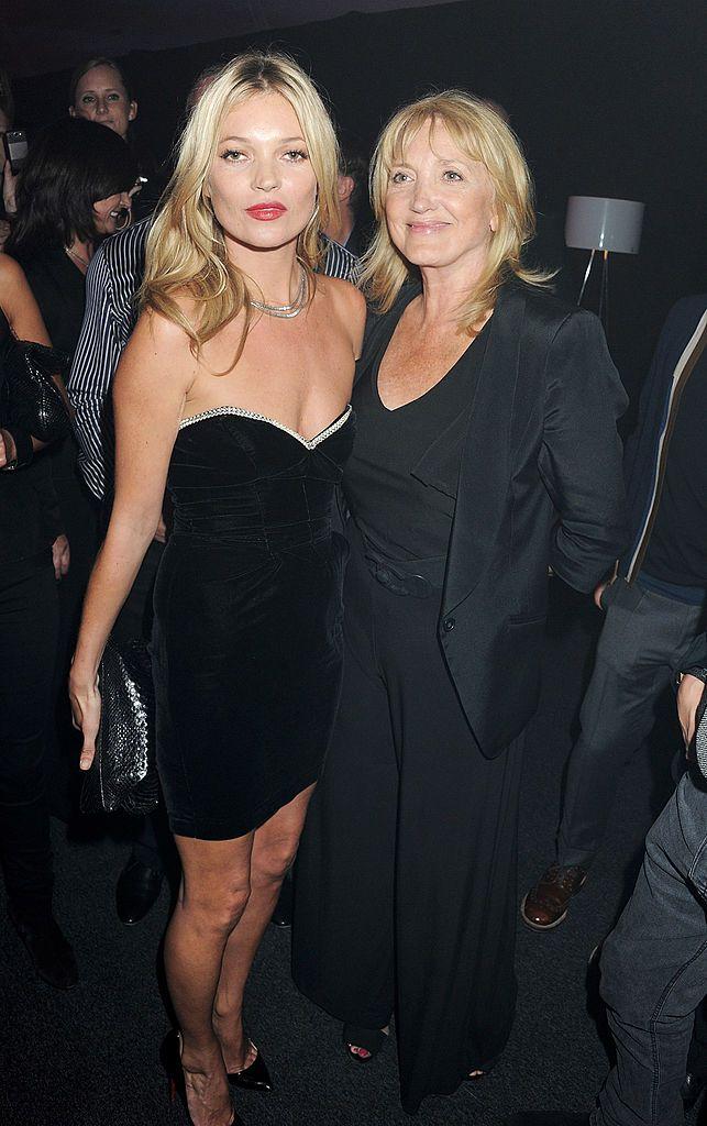 Кейт Мос с майка си