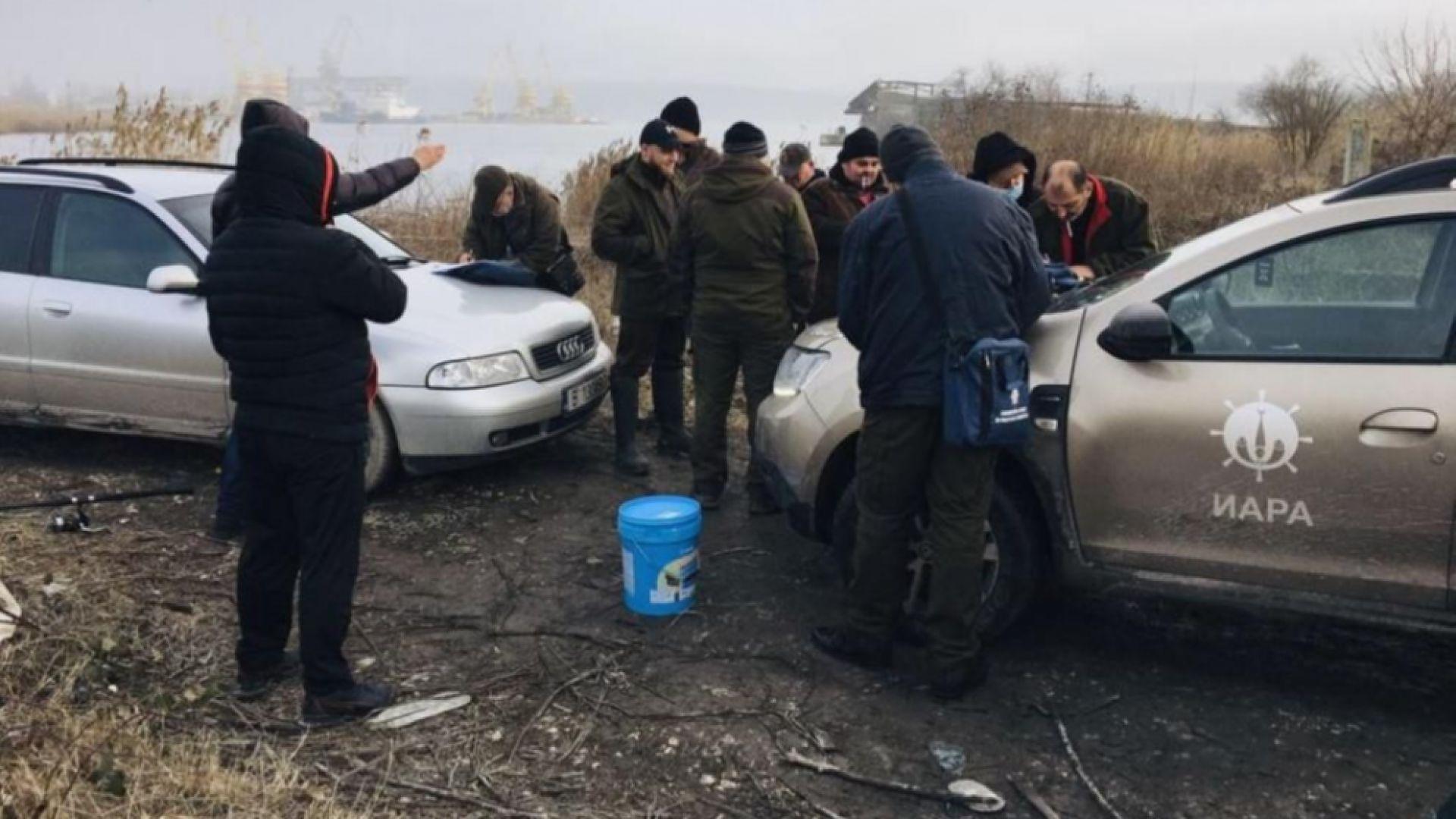 Хванаха бракониери при акция на Варненското езеро