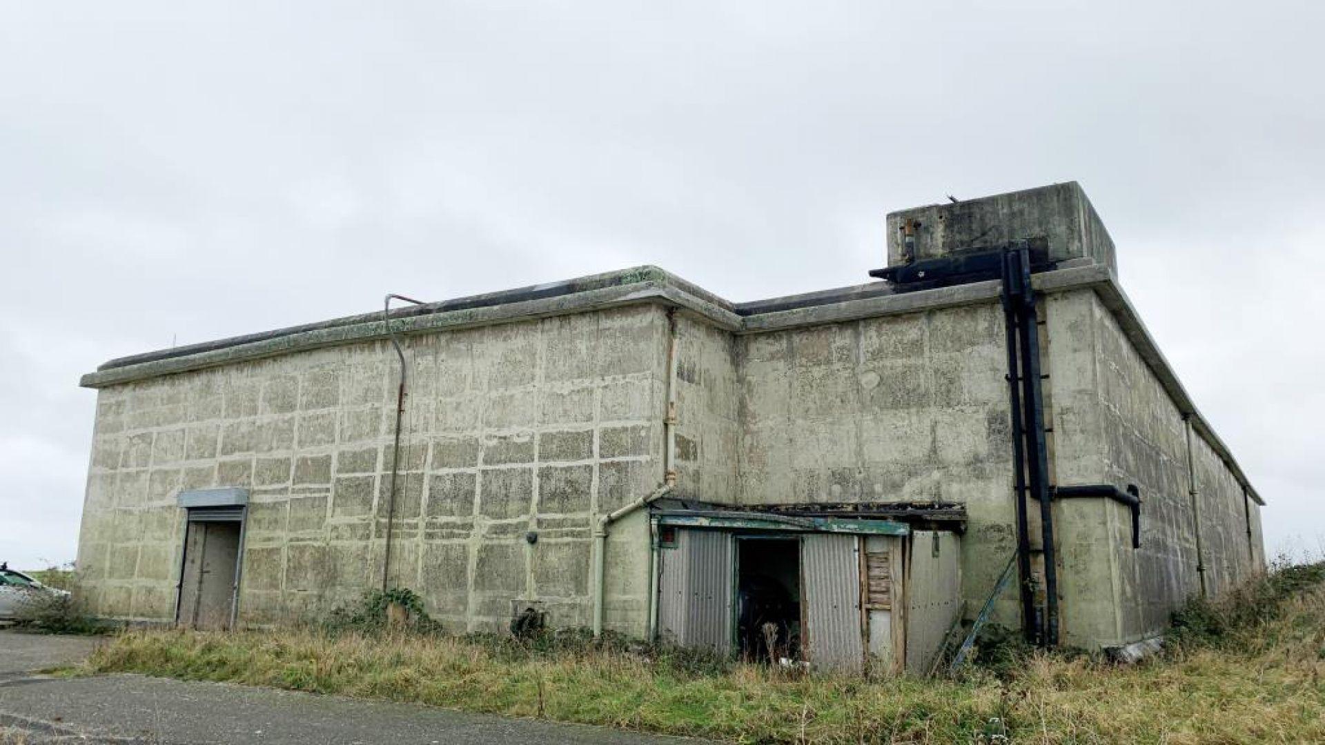 Продават огромен ядрен бункер във Великобритания (снимки)