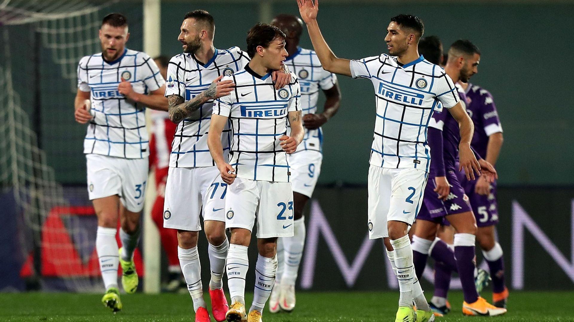 """Интер отново вкуси върха на Серия """"А"""""""