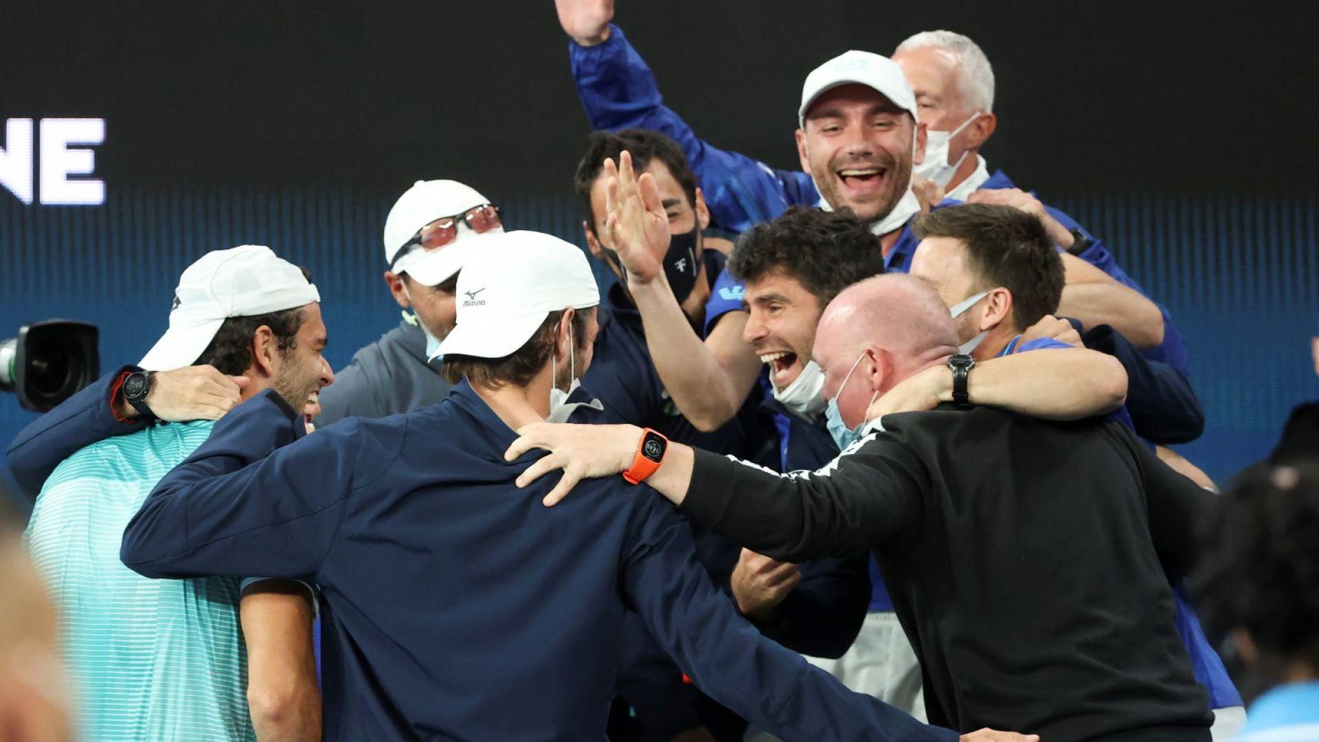 Изненадващ финал за ATP Cup, Надал отново не се съблече по екип за Испания