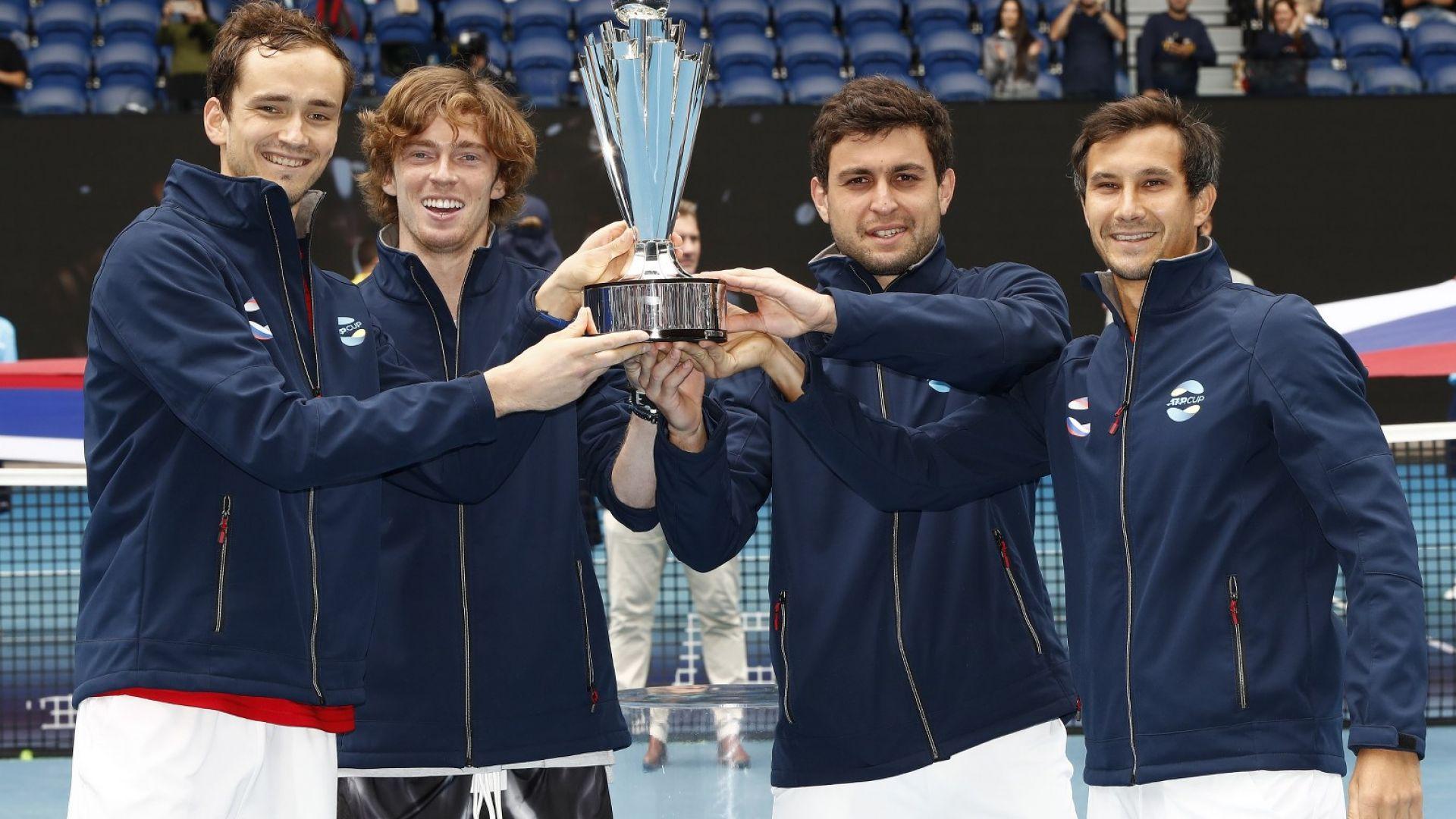 Русия е новият тенис господар на света