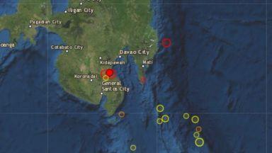 6 по Рихтер разлюля Филипините (видео)