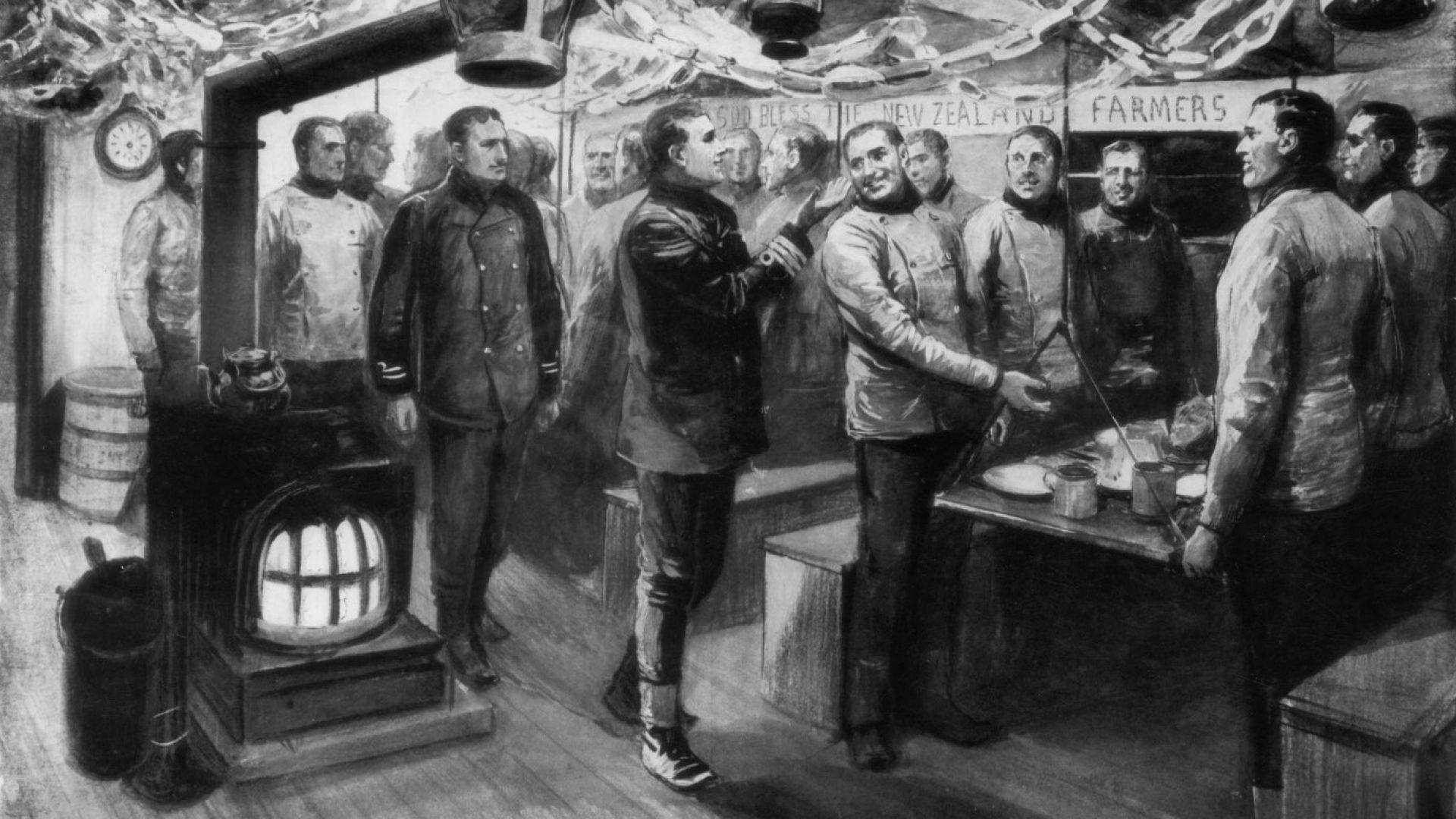 Банджо и руска граматика: как полярните изследователи се справяли с изолацията