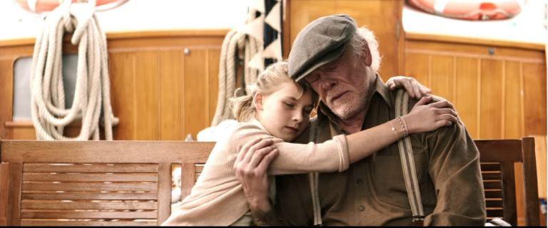 """Ник Нолти с дъщеря си Софи във филма """"Глава, пълна с мед"""""""