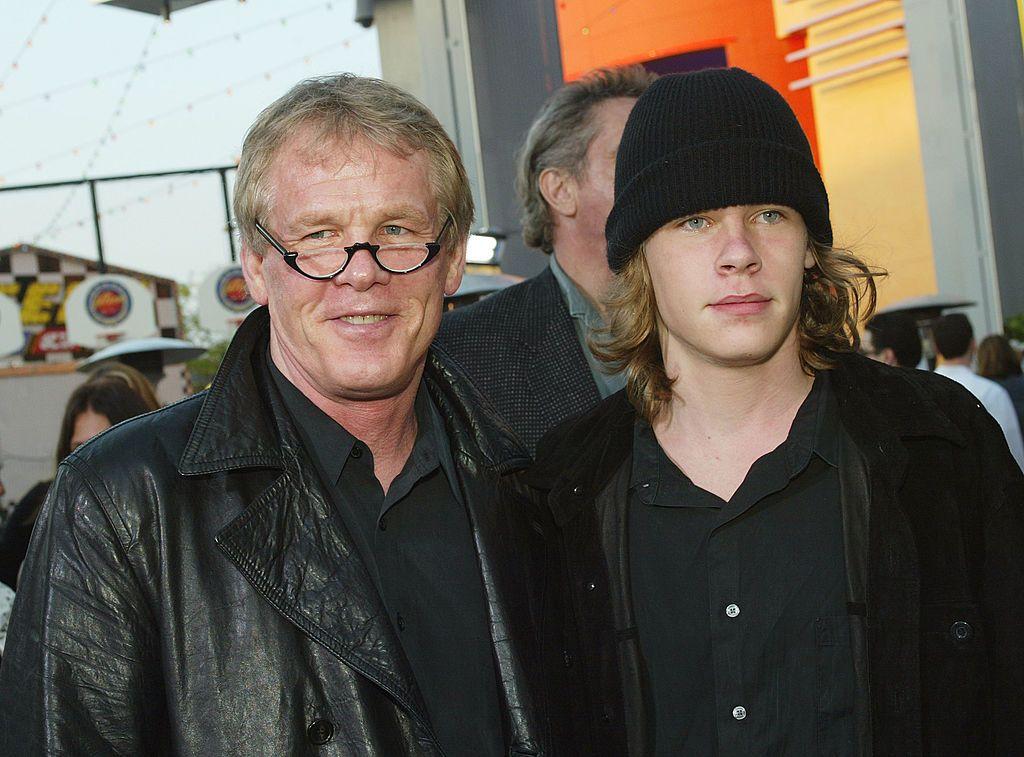 Ник Нолти със сина си Броули