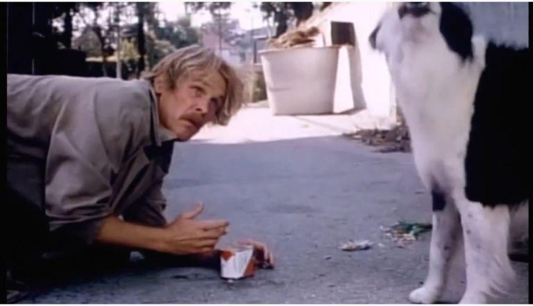 """Ник Нолти във филма """"Суматоха в Бевърли Хилс"""""""