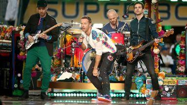 Към звездите: Новото парче на Coldplay дебютира в космоса
