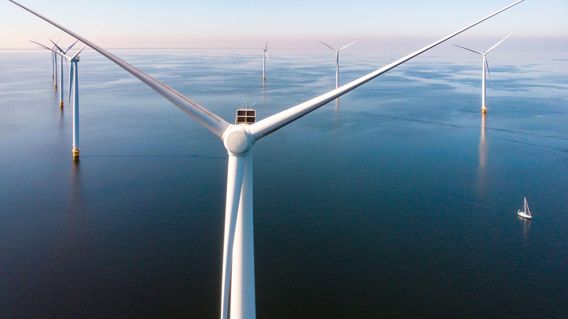 Дания създава изкуствен остров, генериращ енергия от вятъра