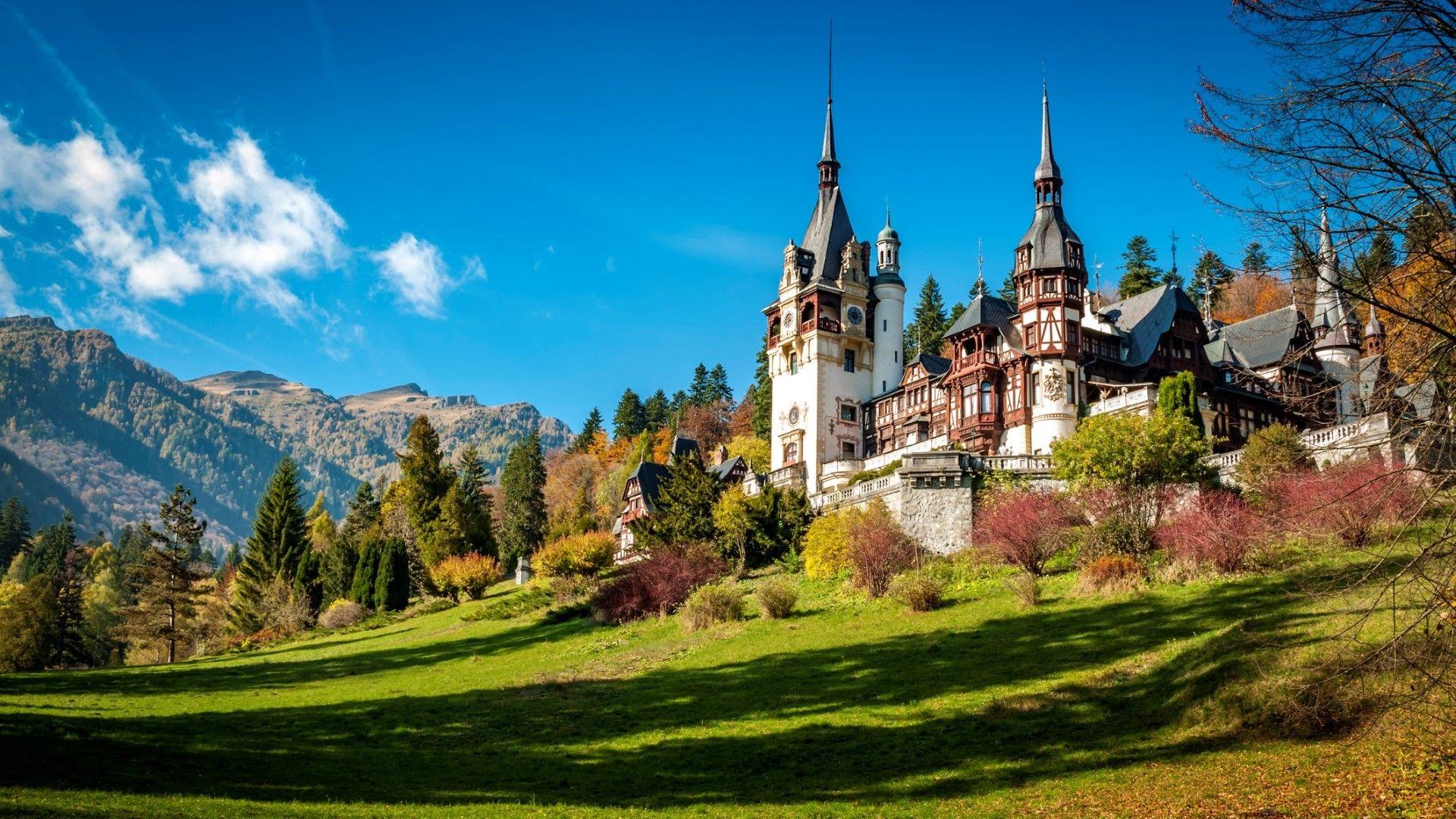 Румъния, замъкът Пелеш