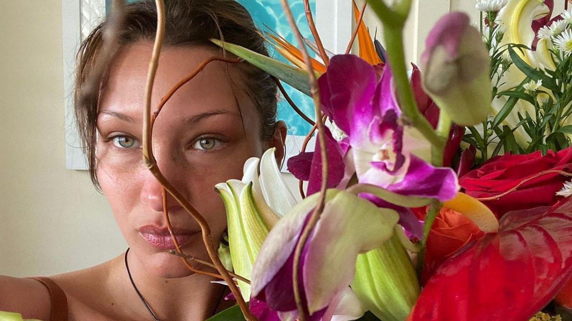 Неподправена красота: Бела Хадид без филтри и без грим