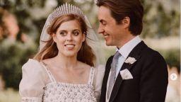 Принцеса Беатрис кръсти новородената си дъщеря на Кралица Елизабет