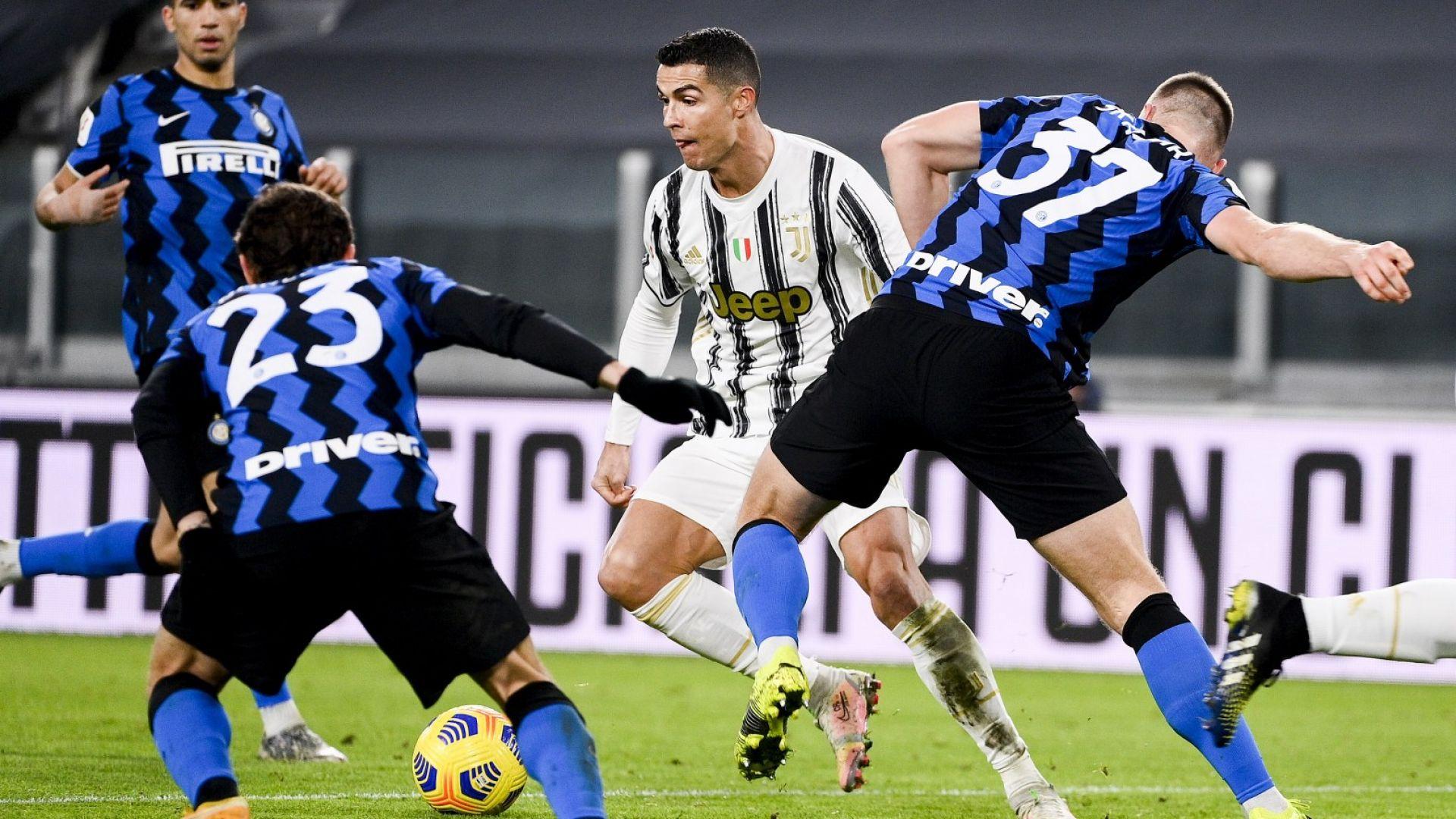 Вратарят на Интер спря Роналдо, но не и Юве към финала