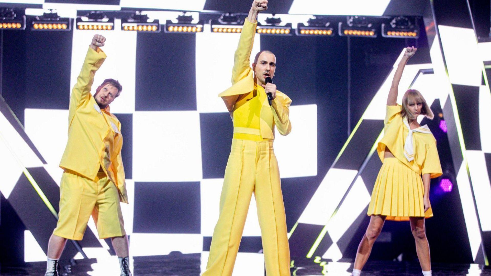 Франция, Литва и Украйна представиха песните си за Евровизия 2021