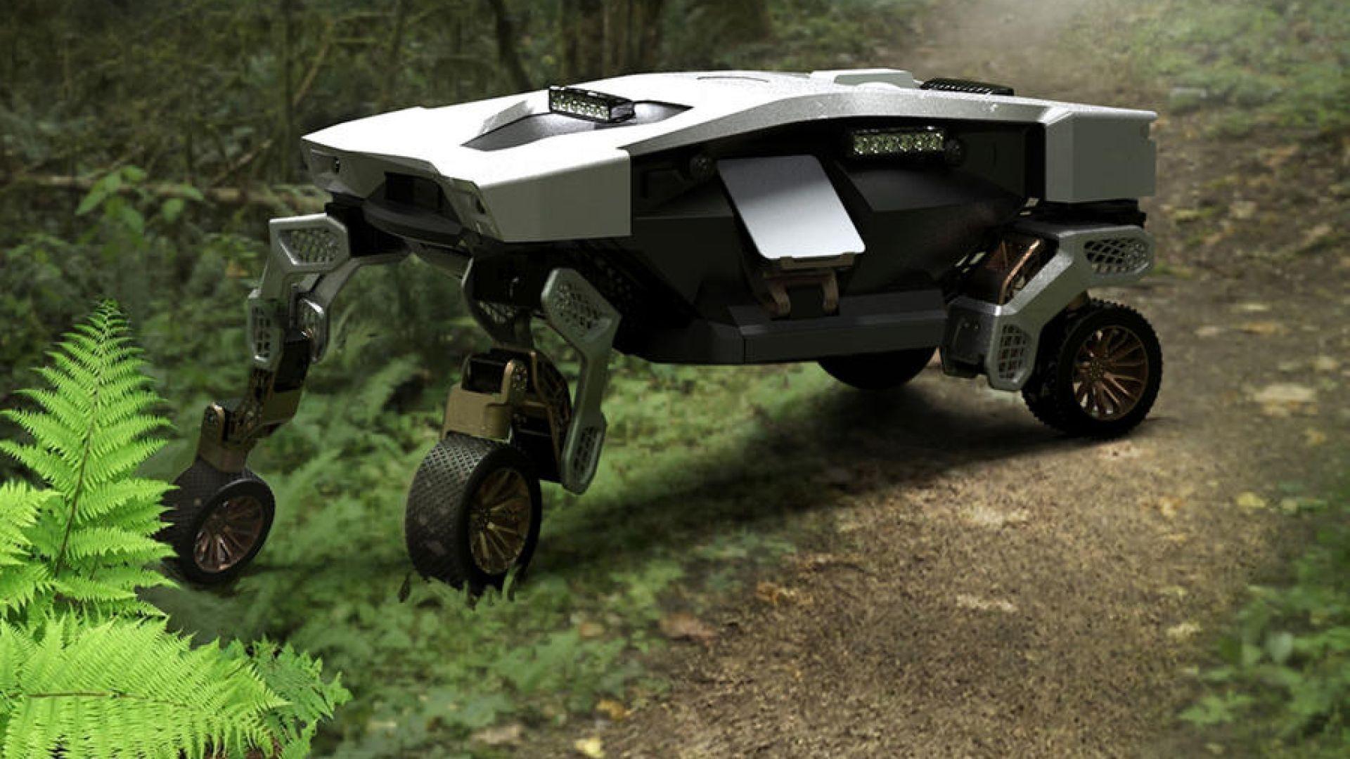 Hyundai показа робот-кола, ходещ на четири крака