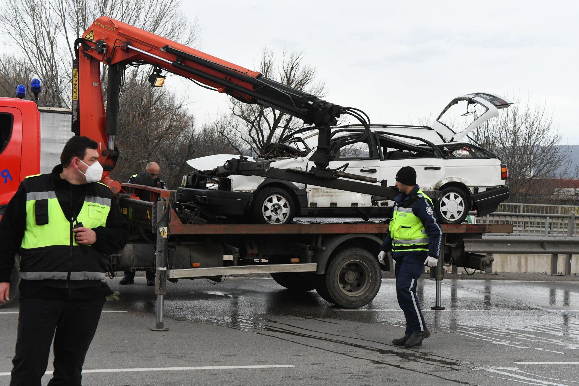 След катастрофата на Ботевградско шосе