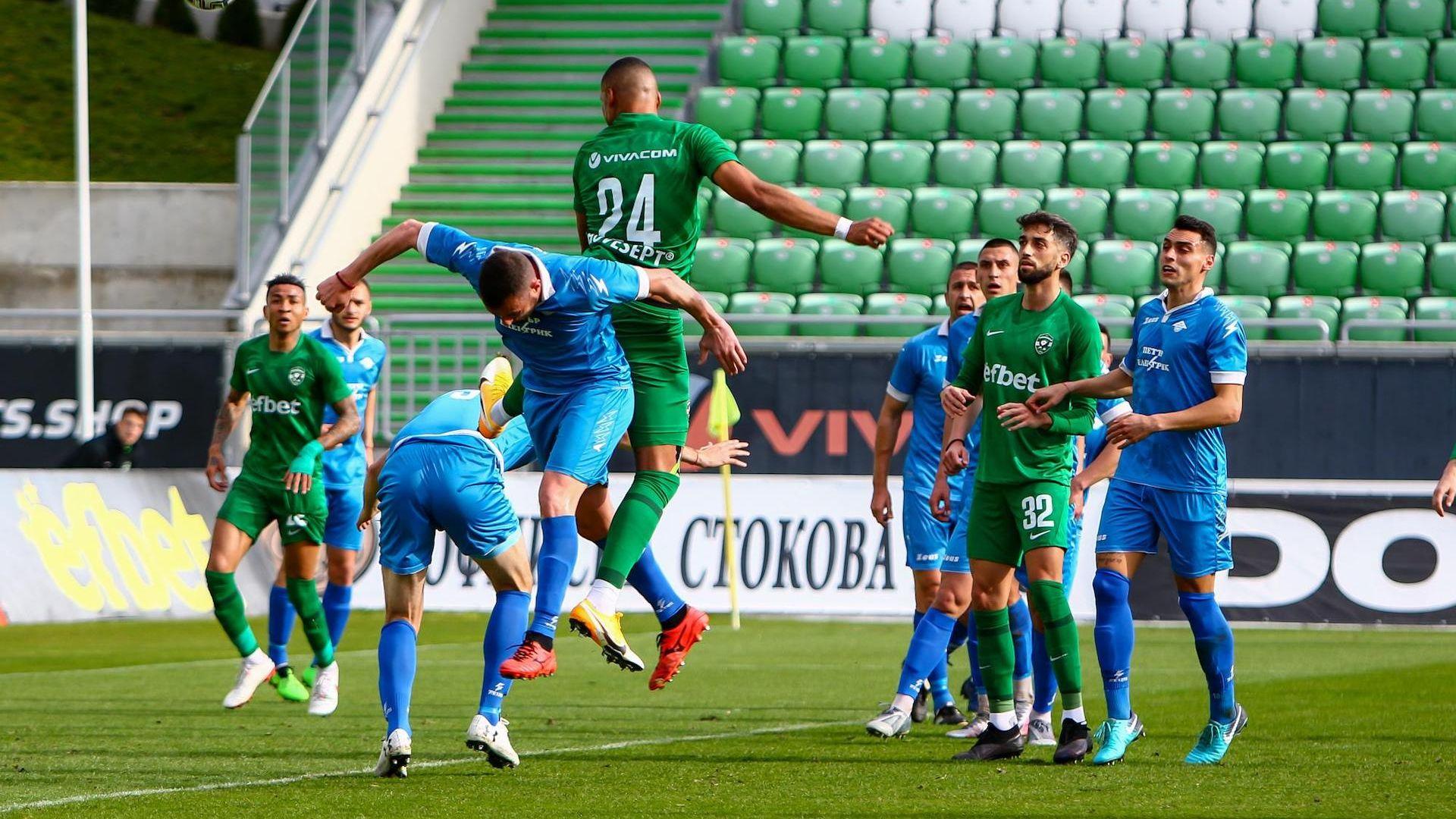 Българският футбол се завърна, Лудогорец отстрани Спортист за Купата