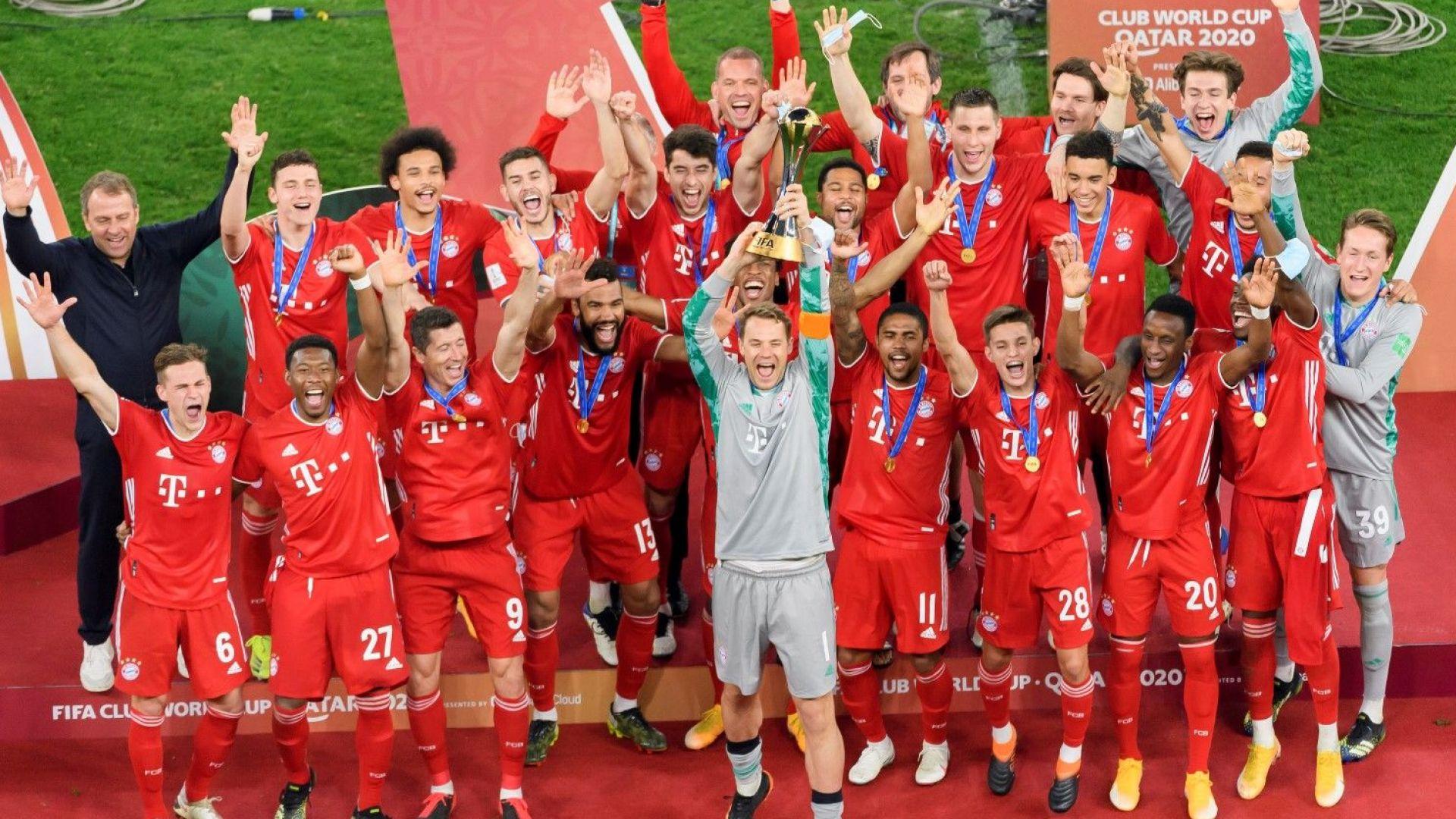 Машината Байерн стана световен шампион и постигна  футболния Голям шлем
