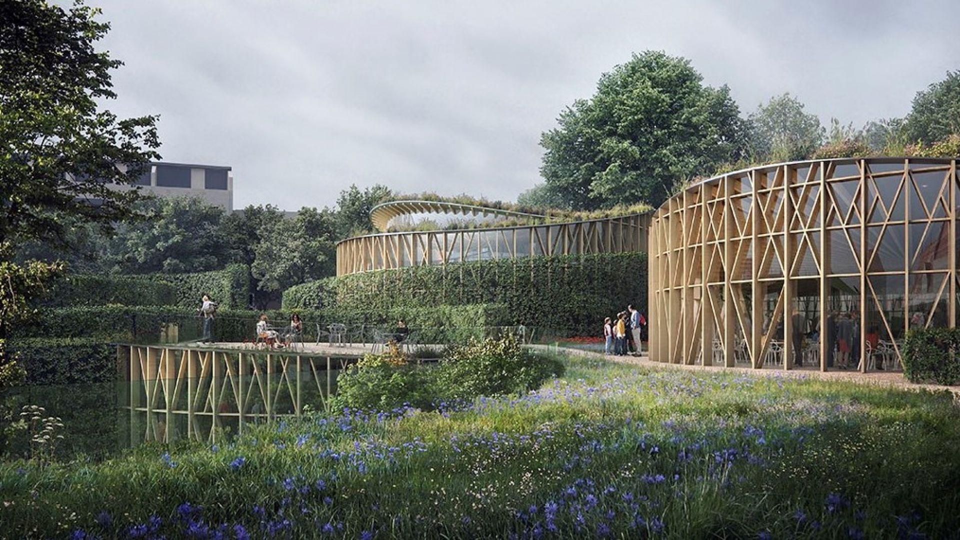 Градината в музея на Андерсен