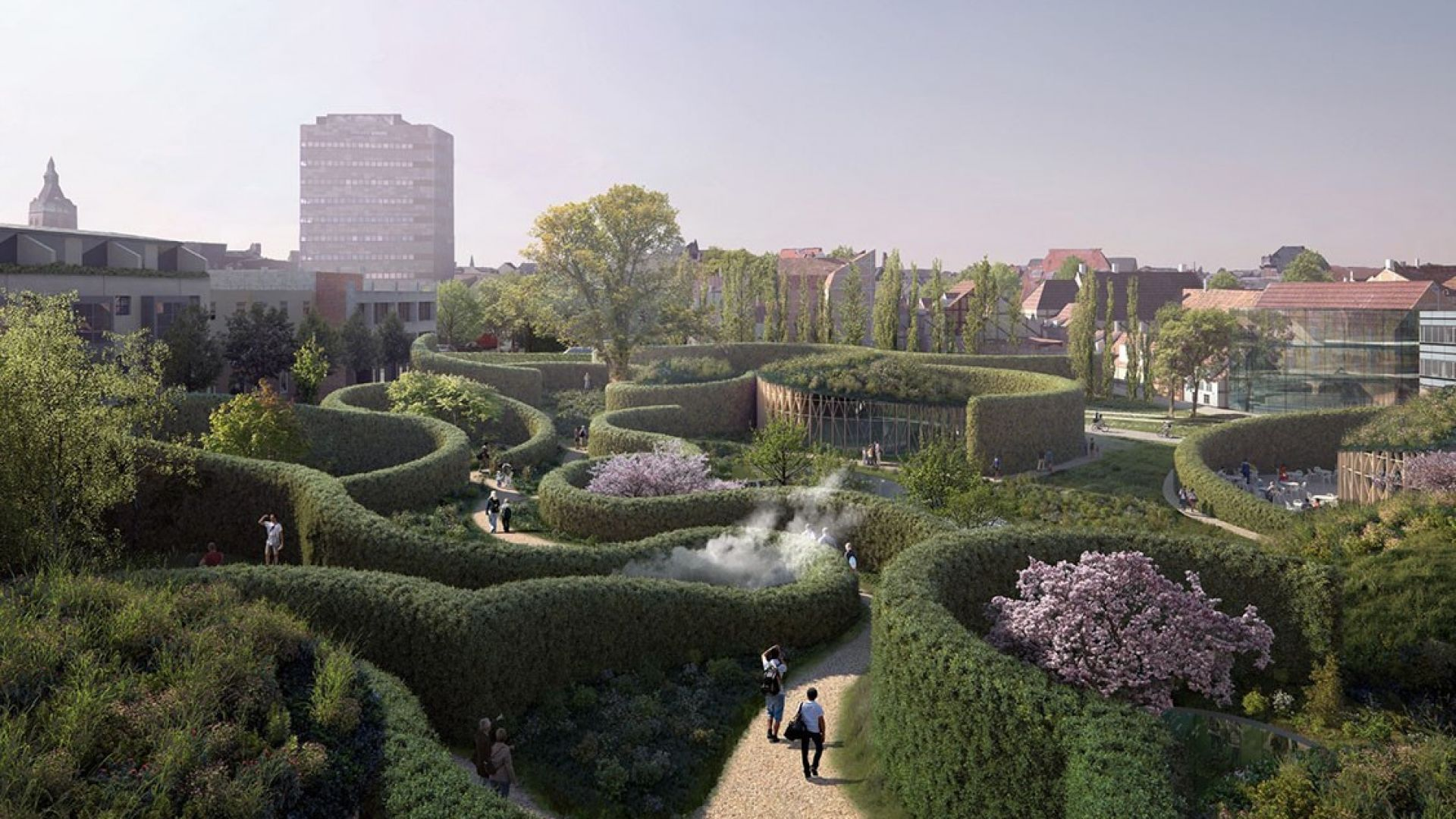 Новият музей на Андерсен: подземни тунели, лабиринти и магия