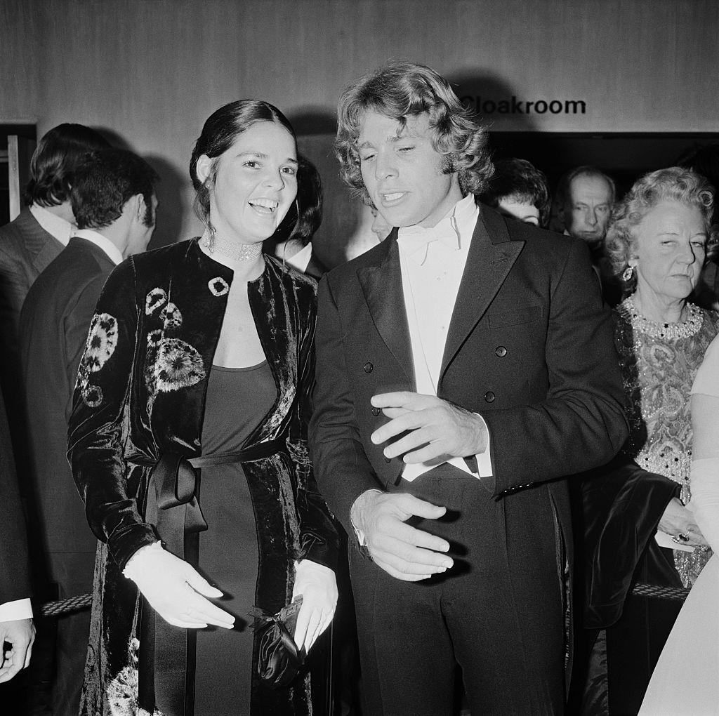 Али Макгроу и Райън О'Нийл през 1971