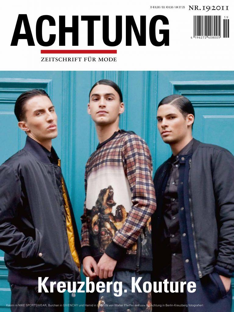 """Алек Сандър на корицата на """"Achtung Magazine"""""""