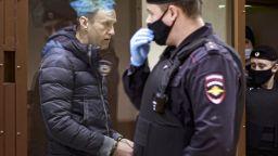 Навални е преместен от следствения изолатор, вероятно в затвор извън Москва