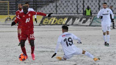 ЦСКА се измъкна от снежния капан в Овча купел