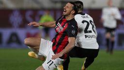 Удар за Милан, Златан отново е контузен и пропуска мачовете с Юнайтед