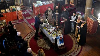 Сливен се сбогува със своя герой Атанас Скатов (снимки)