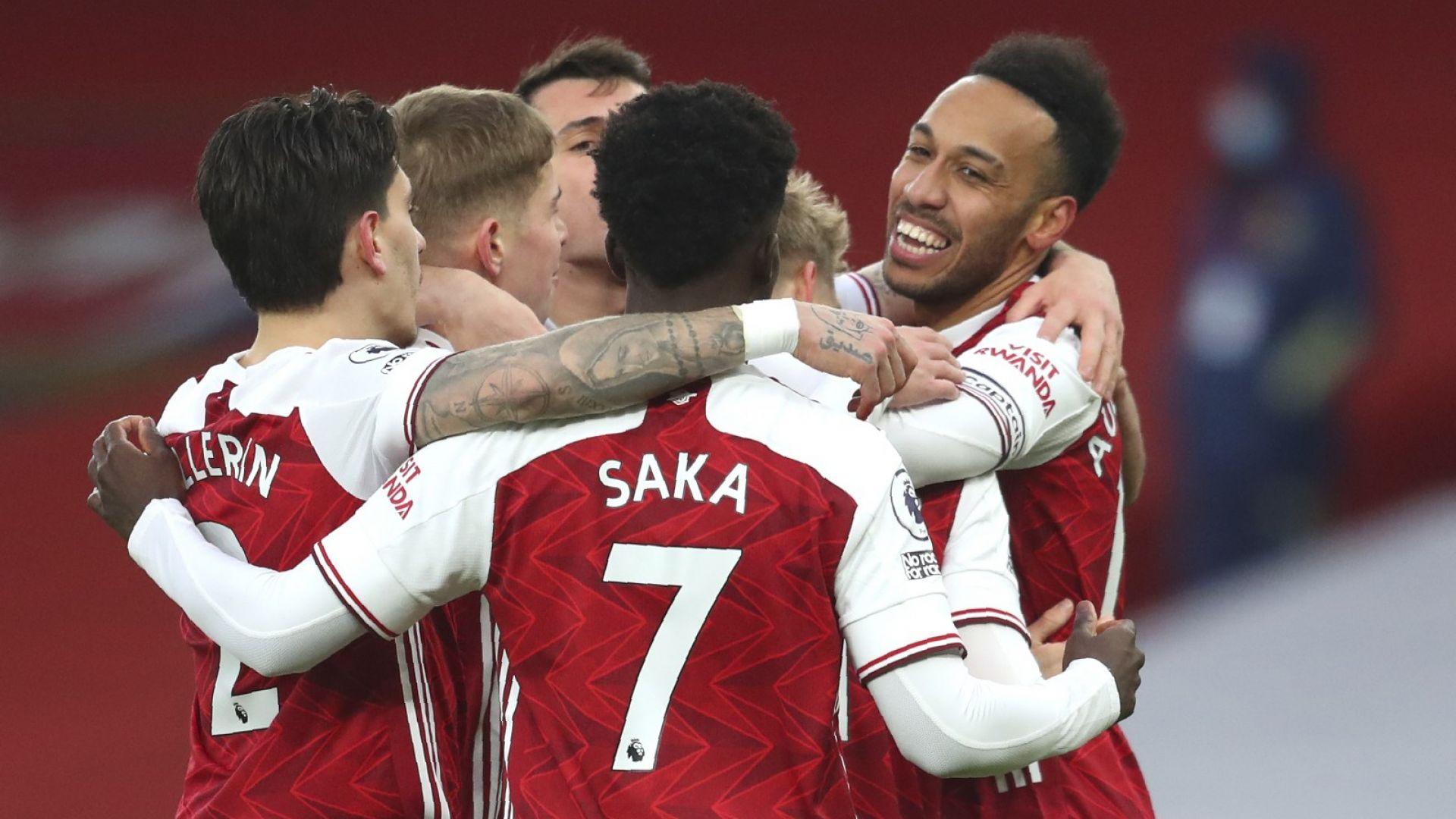 Арсенал се върна към победите след зрелище с Лийдс