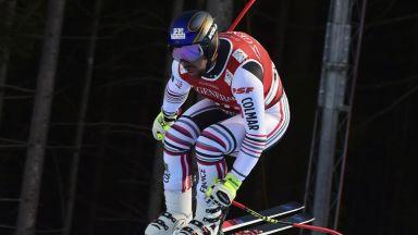 Алпиец загуби контрол при 130 км/ч и е невредим заради невероятно изпълнение (видео)
