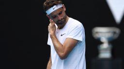 Обрат: Григор отказа турнира в Сингапур, за да се възстанови