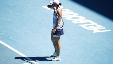 Световната №1 сензационно изхвърча от Australian Open