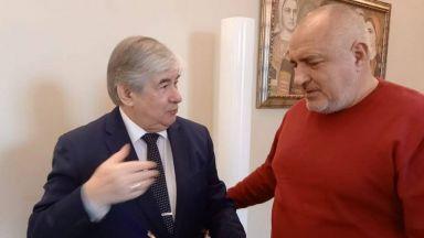 Бойко Борисов и Румен Радев се сбогуваха с руския посланик Макаров