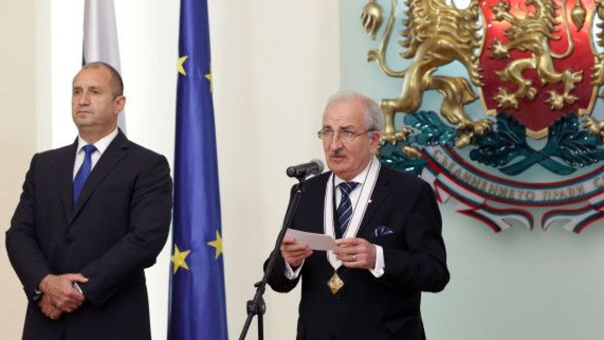 С посланика на Украйна у нас Микола Балтажи