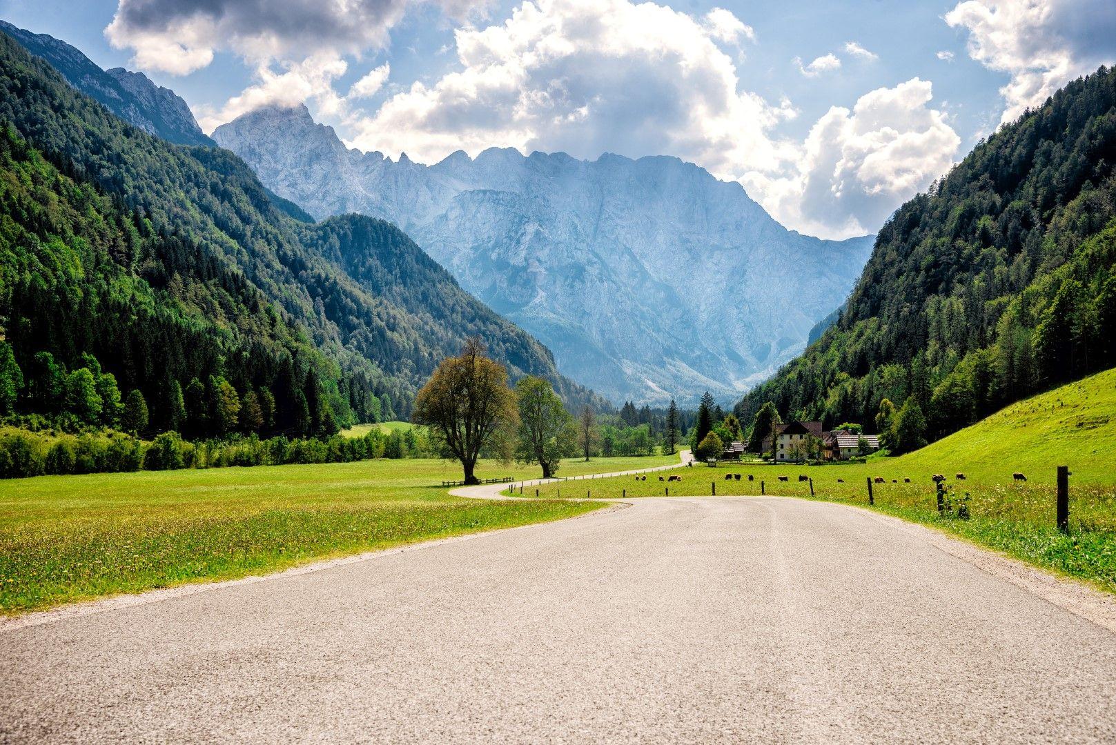 Проходът Юлиер в Швейцарските Алпи