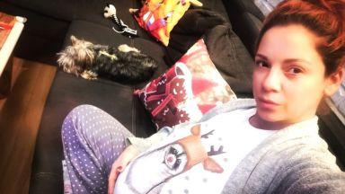 Надя Ганчева от Нова тв стана майка на момиченце