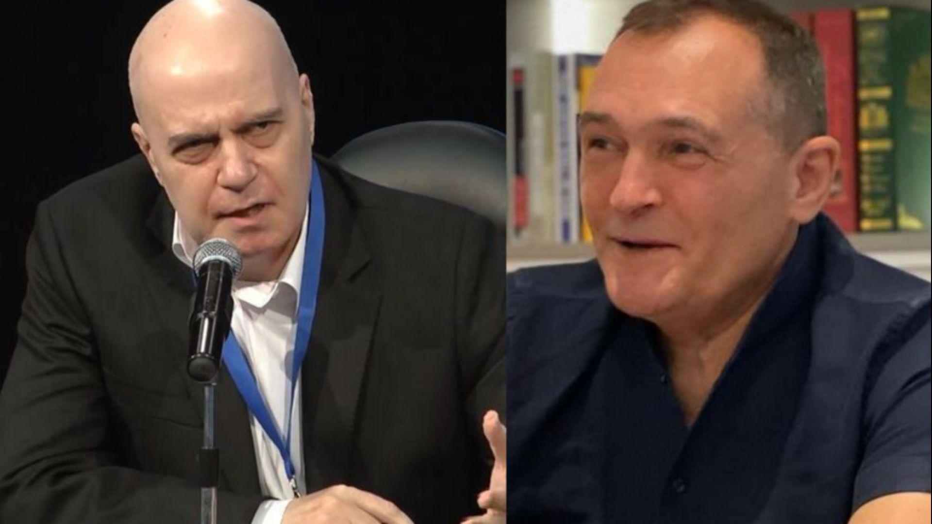 Божков поиска общи листи с партията на Слави, водещият му отказа