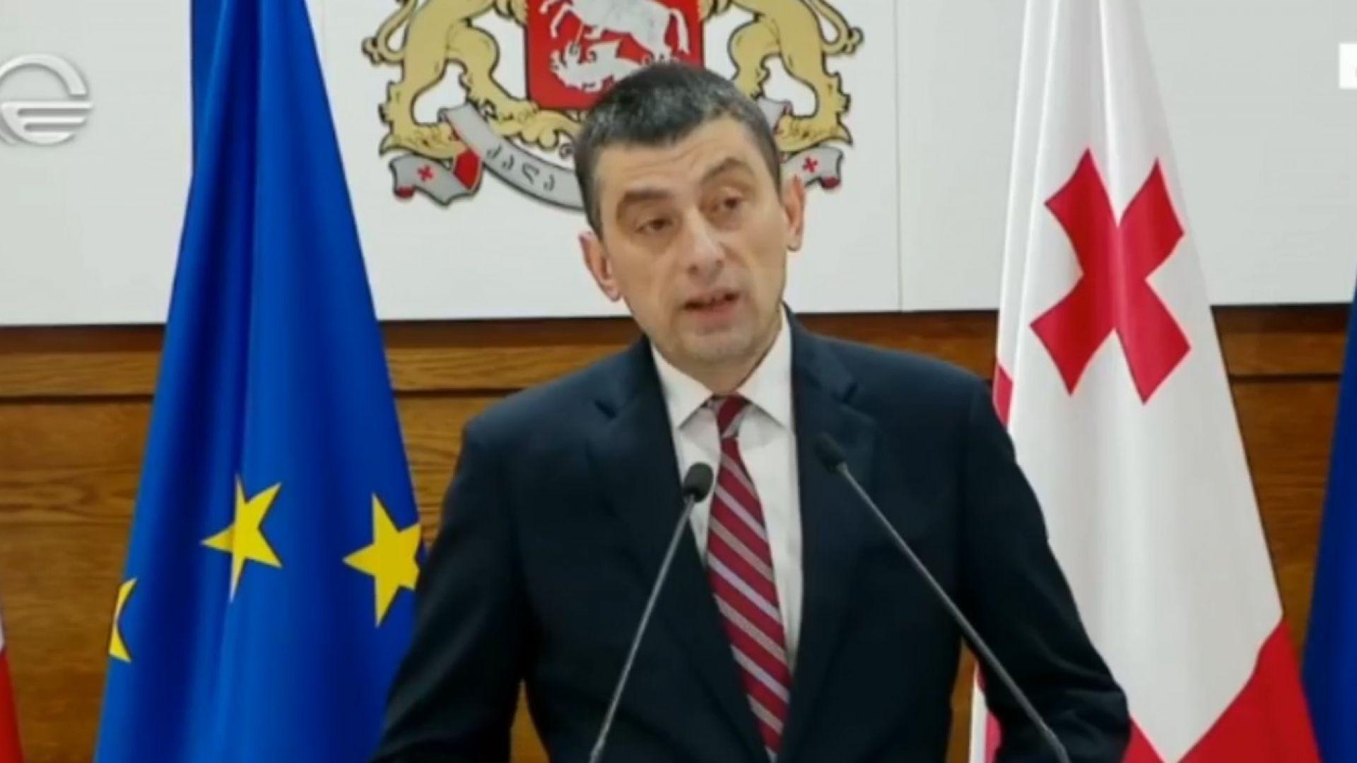 Опозицията в Грузия поиска предсрочни избори след оставката на премиера