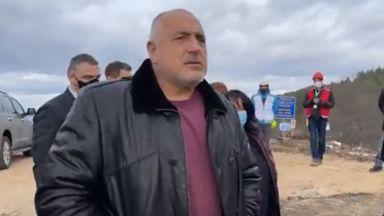 Борисов инспектира интерконектора с Гърция, ще разширяваме хранилището в Чирен (видео)