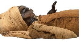 Скенер разкри причините за смъртта на мумифициран фараон