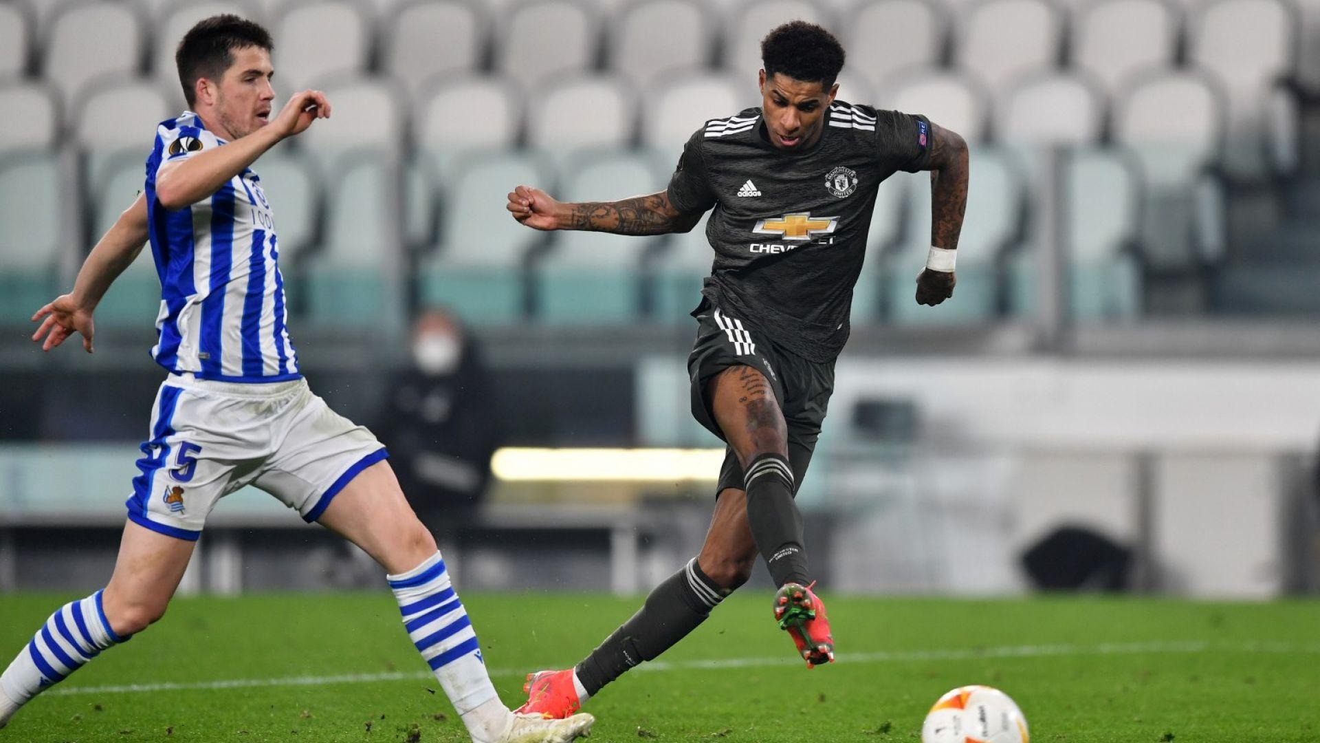 Дъжд от голове в Лига Европа - Юнайтед и Тотнъм докосват осминафинал