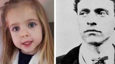5-годишно момиченце развълнува мрежата със стихотворение за Васил Левски (видео)